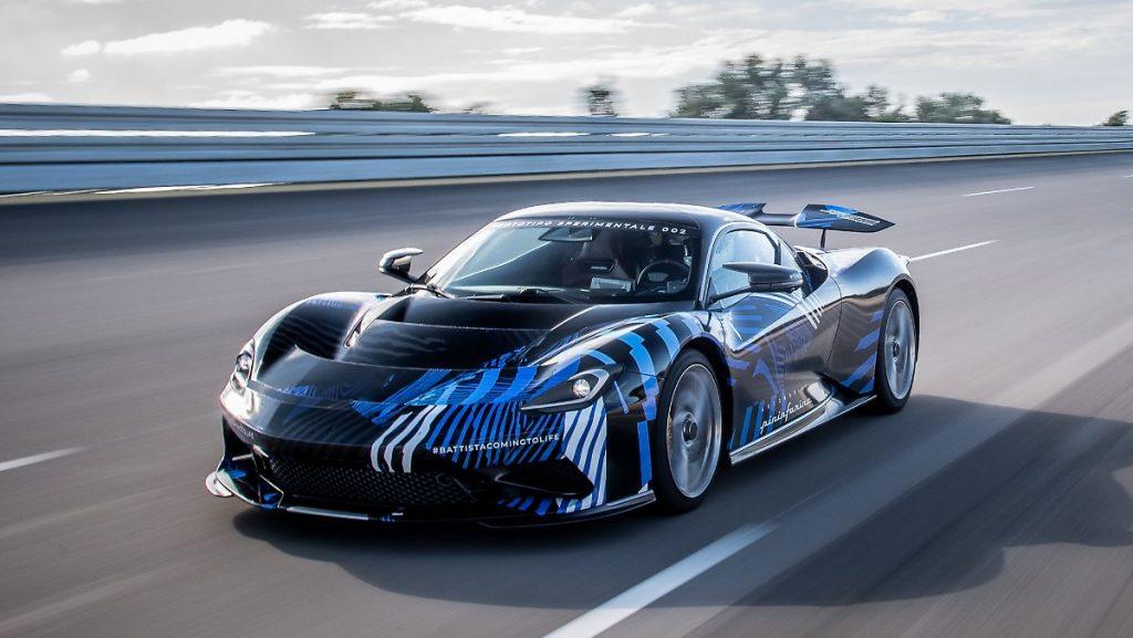 """Kein typisches """"Halo-Auto"""": Super Stromer von Pininfarina"""