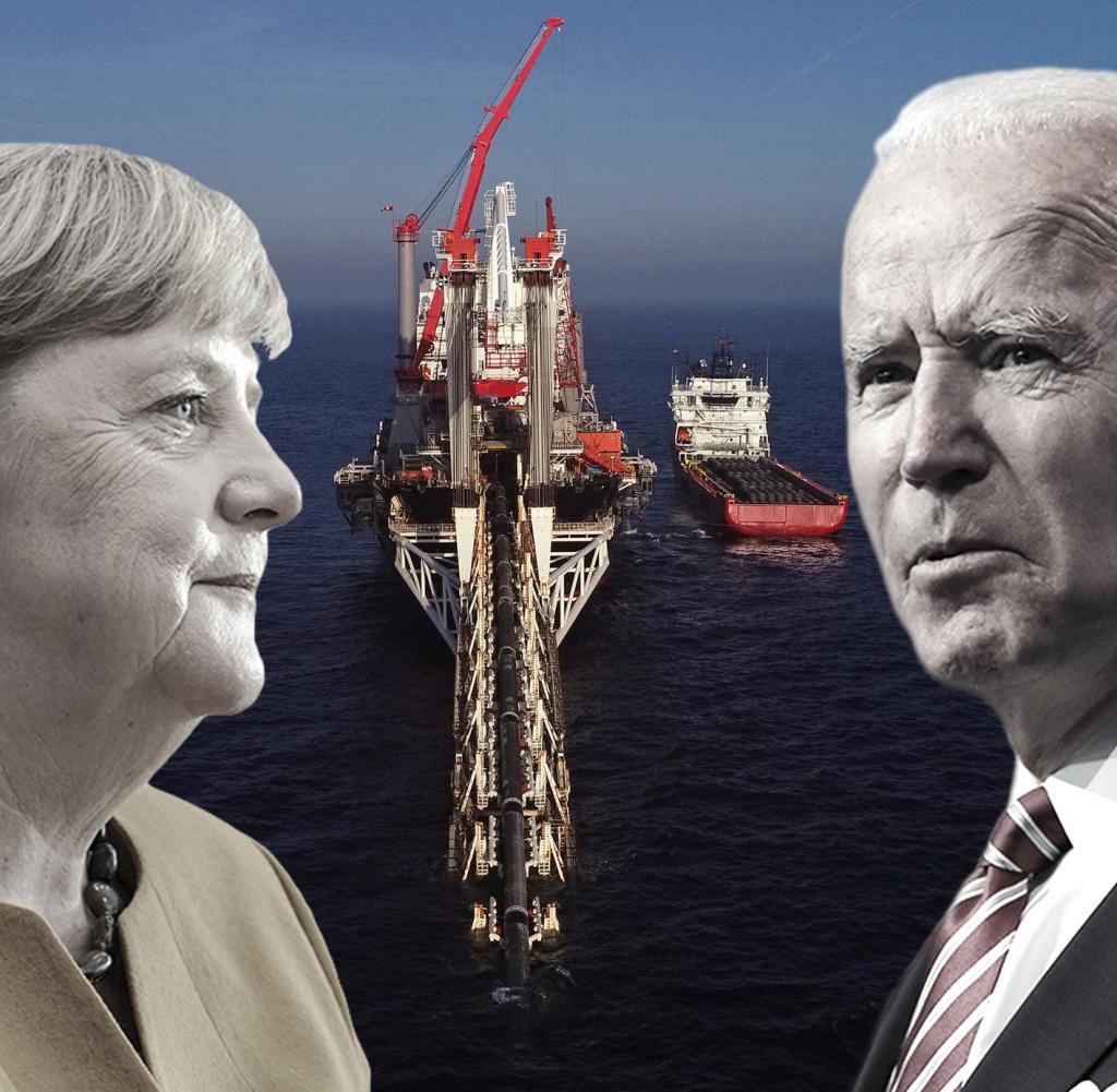 Nur 150 von insgesamt 1224 Kilometern fehlen noch, um Nord Stream 2 zu absolvieren. Die Entfernung zwischen Deutschland und den USA wächst jedoch.