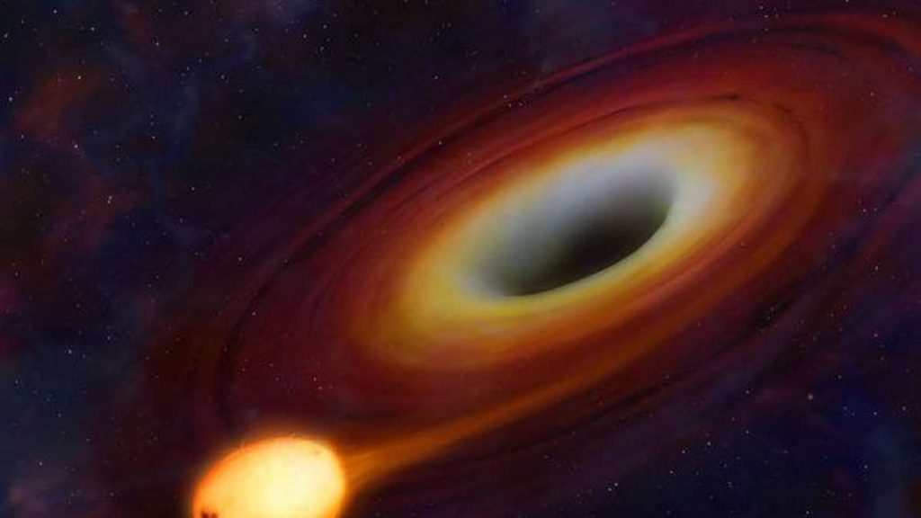 Schwarze Löcher: Theorie verbreitet sich online - leben wir in einem Wurmloch?