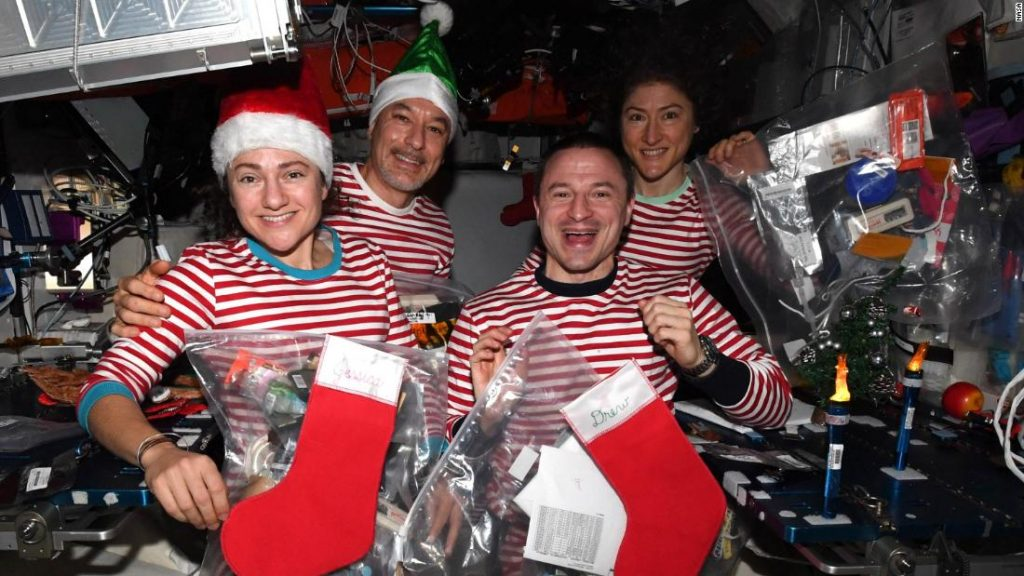 So feiern Astronauten Weihnachten und andere Feiertage im Weltraum