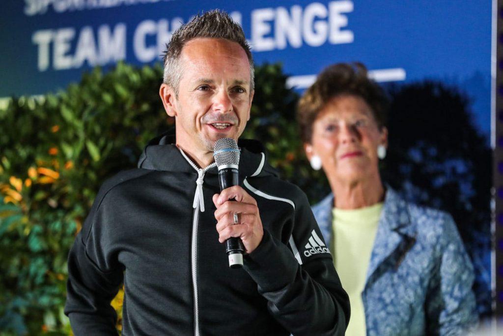 Der österreichische Paralympianer Eibeck wurde zum Walk of Fame des Sportzentrums Niederösterreich hinzugefügt