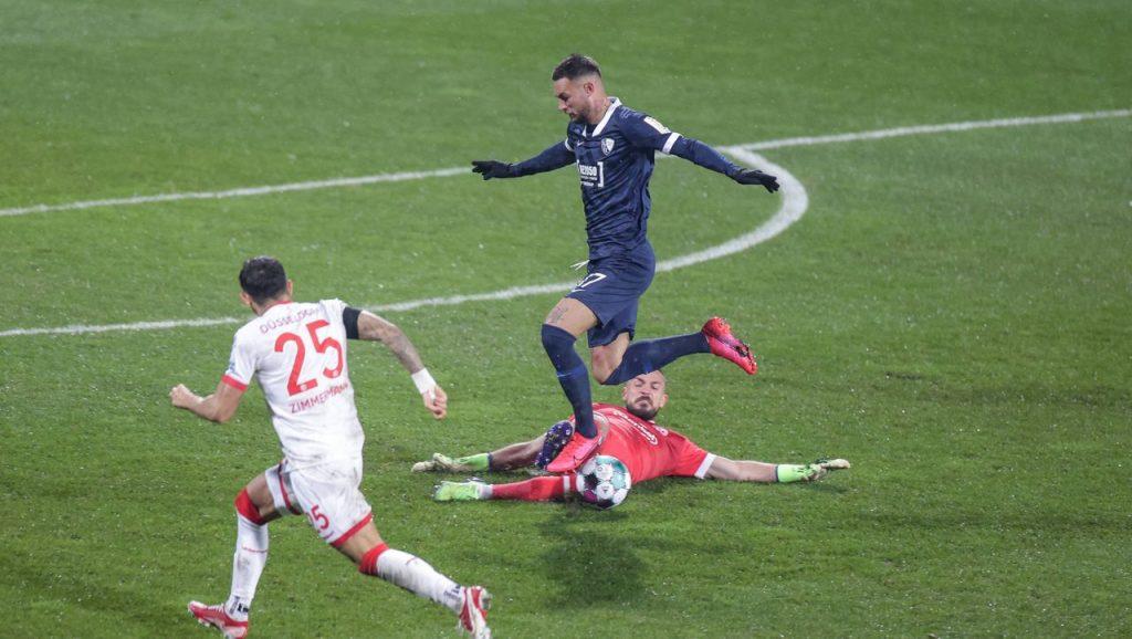 2. Bundesliga: Fortuna Düsseldorf ist seit langem zahlenmäßig unterlegen und geht beim VfL Bochum unter