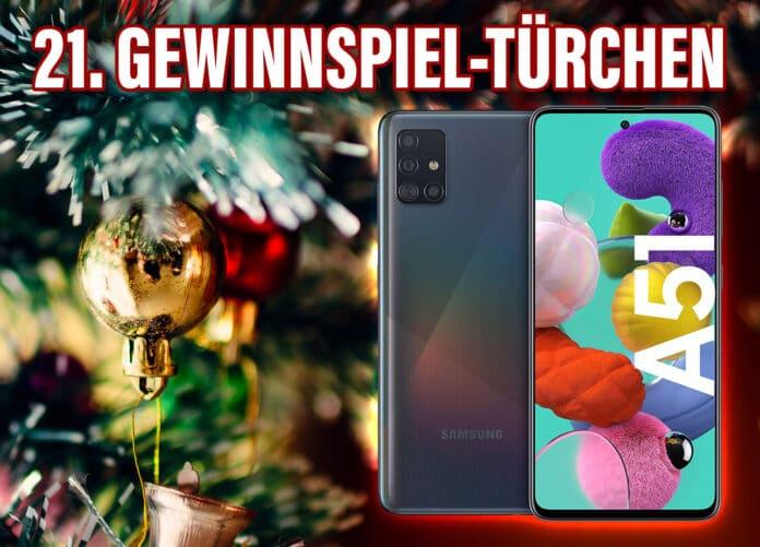 Gewinnen Sie eines von zwei Samsung Galaxy A51 Smartphones!