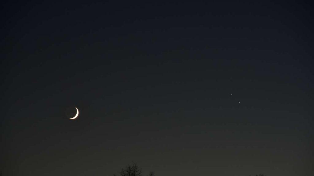 Astronomisches Ereignis: Saturn und Jupiter kommen dem Himmel sehr nahe
