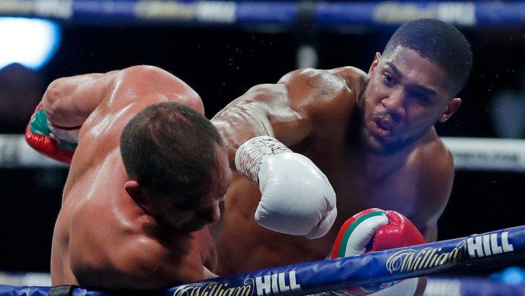 Boxen: Anthony Joshua gewinnt gegen Kubrat Pulew und verteidigt seinen Meisterschaftsgürtel