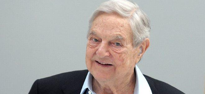 Leidiges Investment: George Soros will offenbar alle Palantir-Aktien wieder aus dem Depot werfen