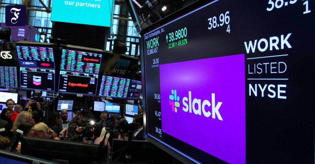 Für fast 30 Milliarden Dollar: Der SAP-Rivale Salesforce übernimmt Slack