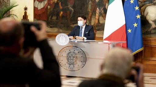 Regierungsentscheidung: Italien kehrt in eine harte Sperre zurück
