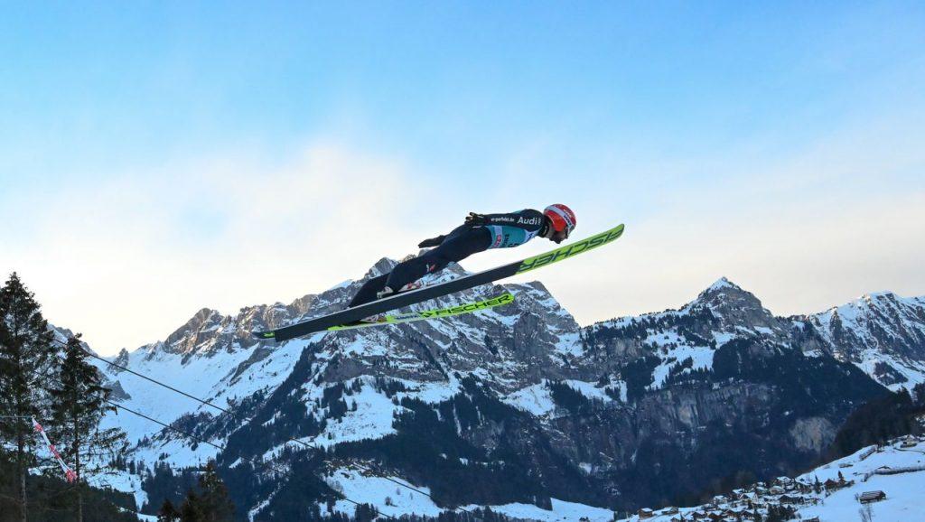 Skispringen: Markus Eisenbichler springt mit Wut im Bauch auf den zweiten Platz in Engelberg