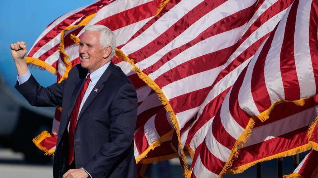 US-Vizepräsident Mike Pence: Geben Sie zuerst Donald Trumps Niederlage zu - dann gehen Sie ins Ausland