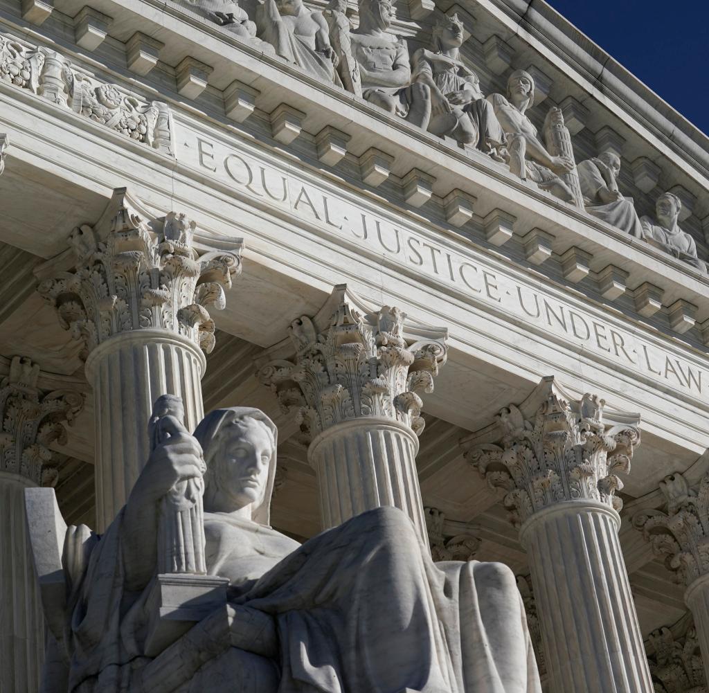 Der Oberste Gerichtshof von Washington.  Wird hier der entscheidende Rechtsstreit nach den US-Wahlen stattfinden?