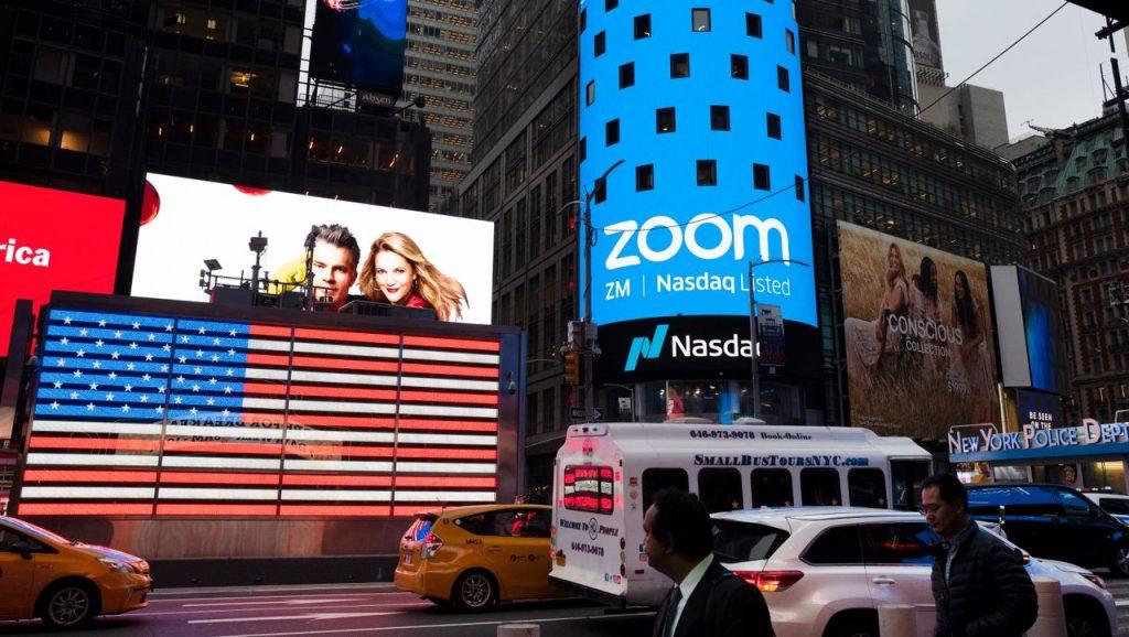 Zoom: Die Aktie von Video Services fällt, da das Unternehmen explosionsartig wächst