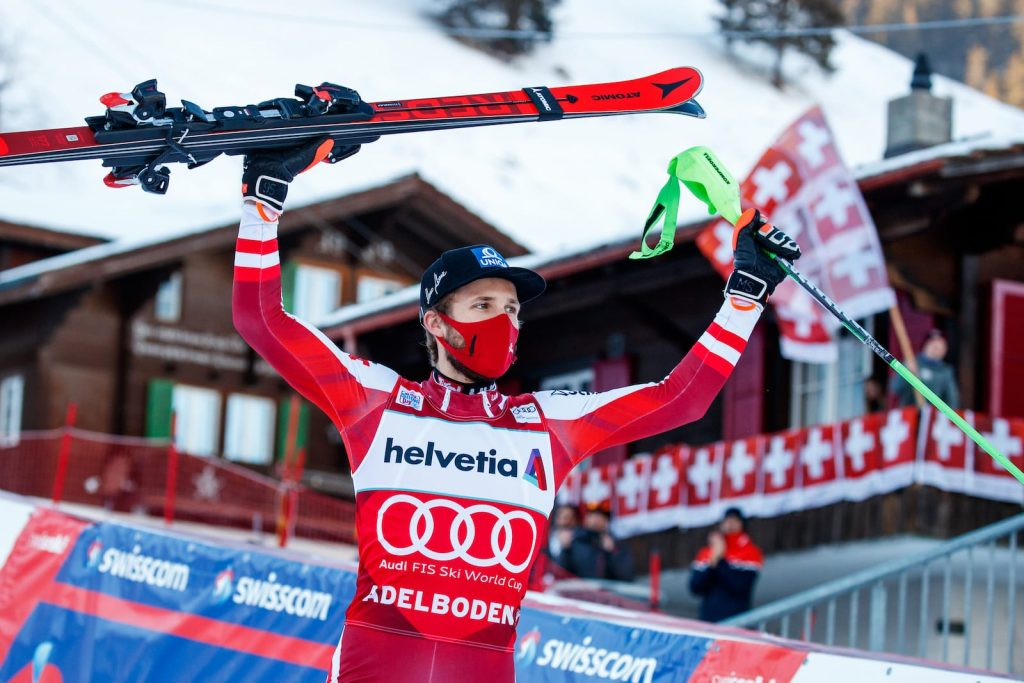 Österreichs Schwarz gewinnt in Adelboden und übernimmt die Führung