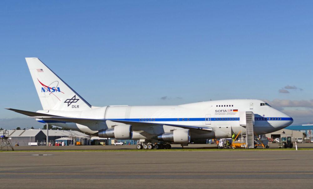NASA 747 SOFIA