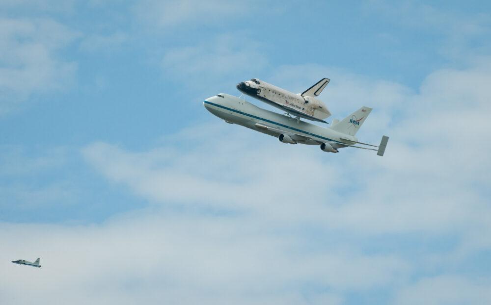 NASA 747 mit Shuttle