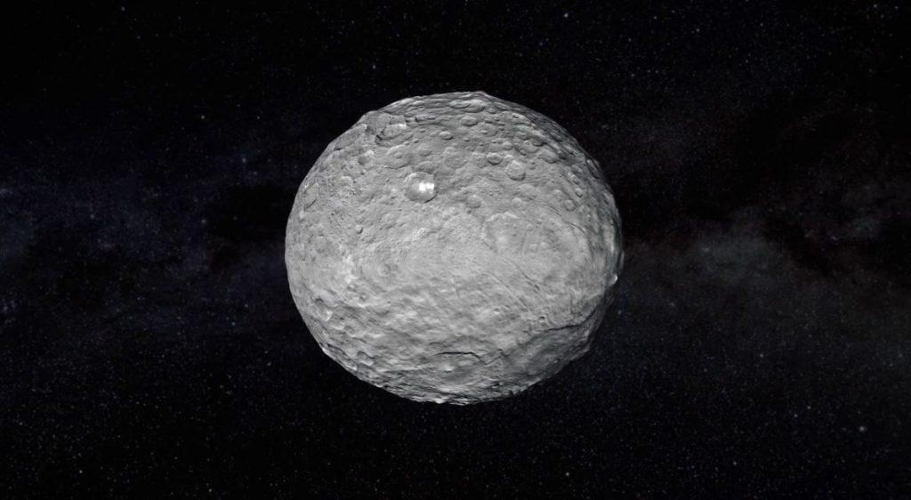 Der Physiker schlägt einen Megasatelliten vor, um Ceres zu umkreisen