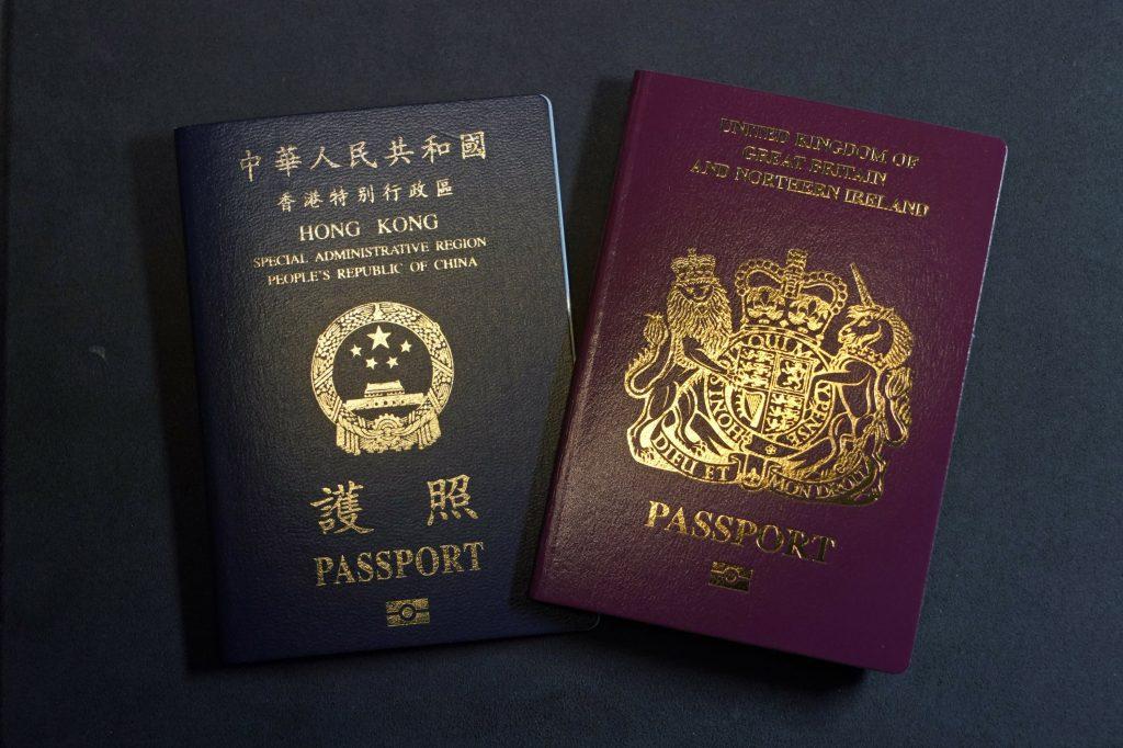 China erkennt den britischen Auslandspass nicht mehr an
