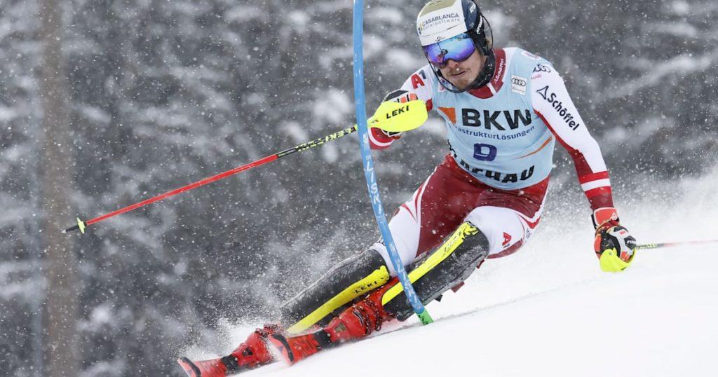 Der Österreicher Manuel Feller triumphiert im Flachauer Slalom