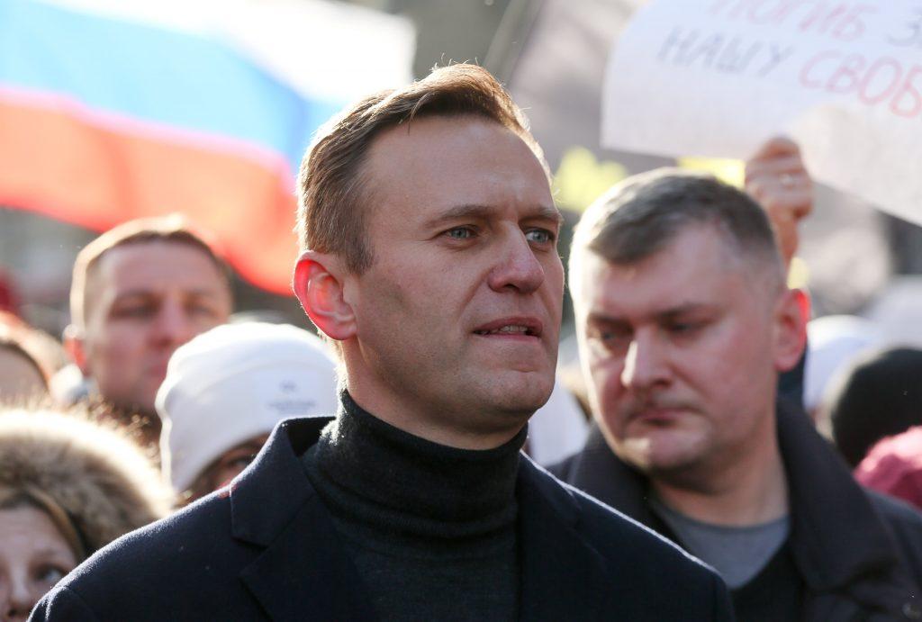 Der russische Oppositionsführer Alexei Navalny wurde am Moskauer Flughafen festgenommen