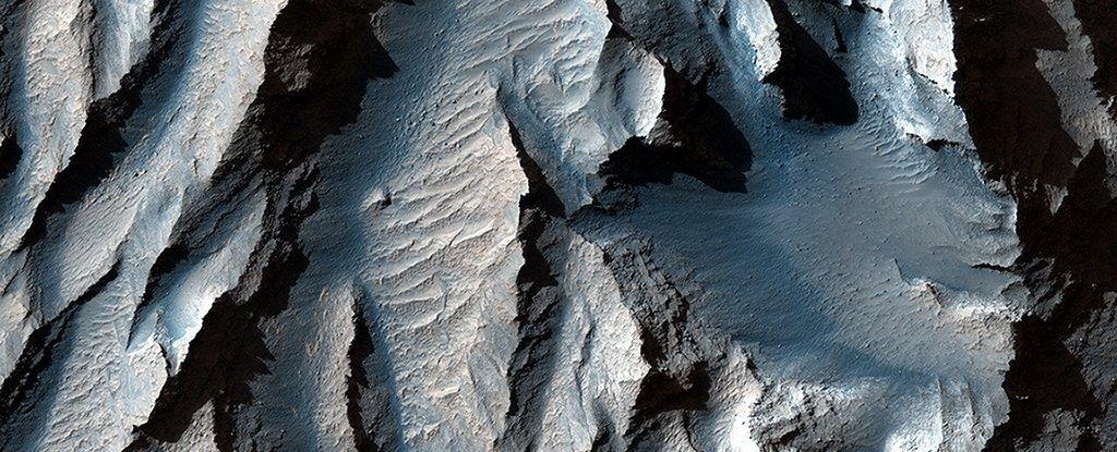 Diese atemberaubende Nahaufnahme des Mars 'Grand Canyon' gibt uns Gänsehaut