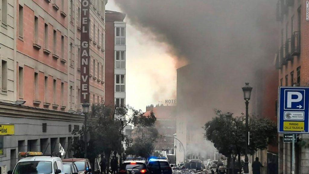 Explosion in Madrid: 3 Tote und mehrere Verletzte bei einer Explosion erschüttern die spanische Hauptstadt