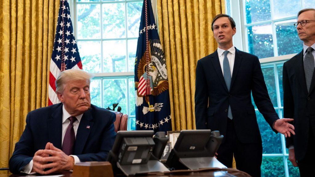 Jared Kushner informierte Jake Sullivan über Trumps Nahostpolitik