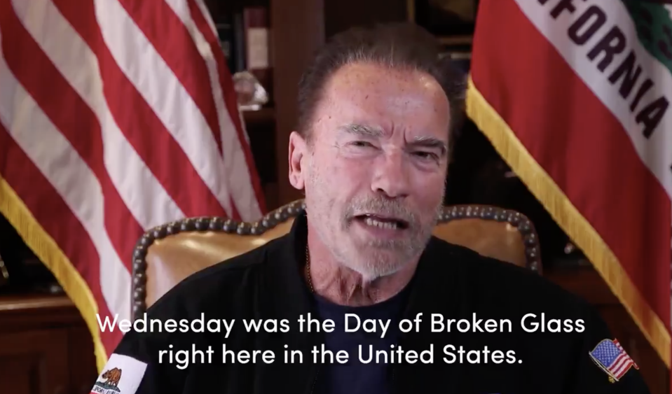 Arnold Schwarzenegger Kindheit