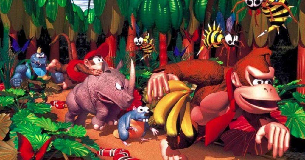 Seltener ehemaliger Künstler enthüllt ursprüngliches Donkey Kong Country Art-Konzept