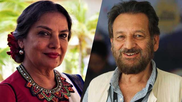 Shabana Azmi trifft sich mit Shekhar Kapur für den Hollywood-Film Was hat Liebe damit zu tun?