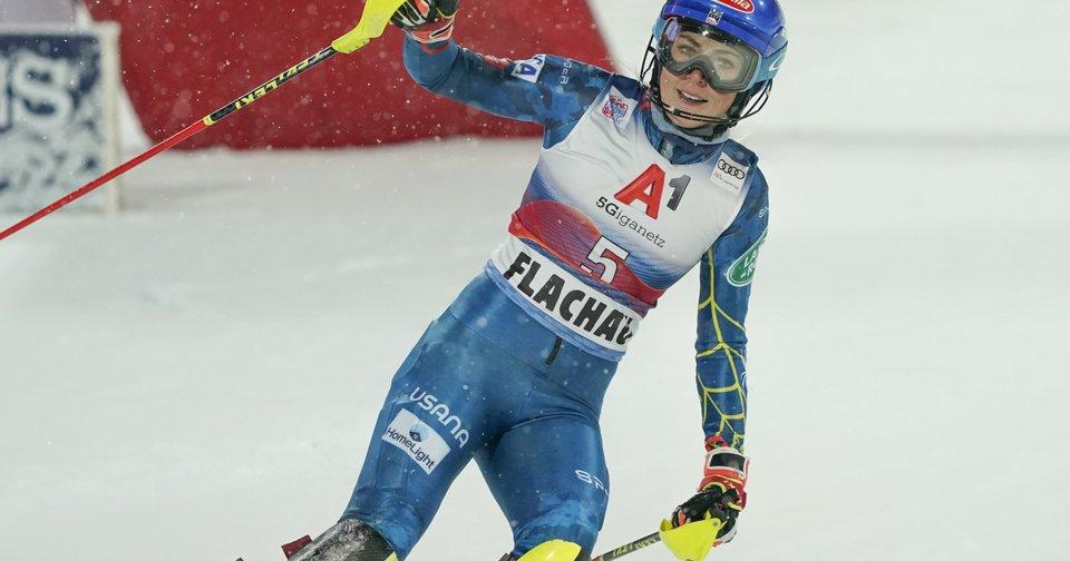 Shiffrin holt den ersten Slalomsieg seit 1 Jahr