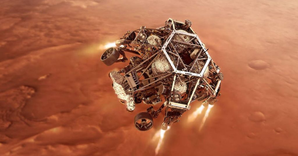 Rover NASA Mars Perseverance: Was Sie am Landetag erwartet
