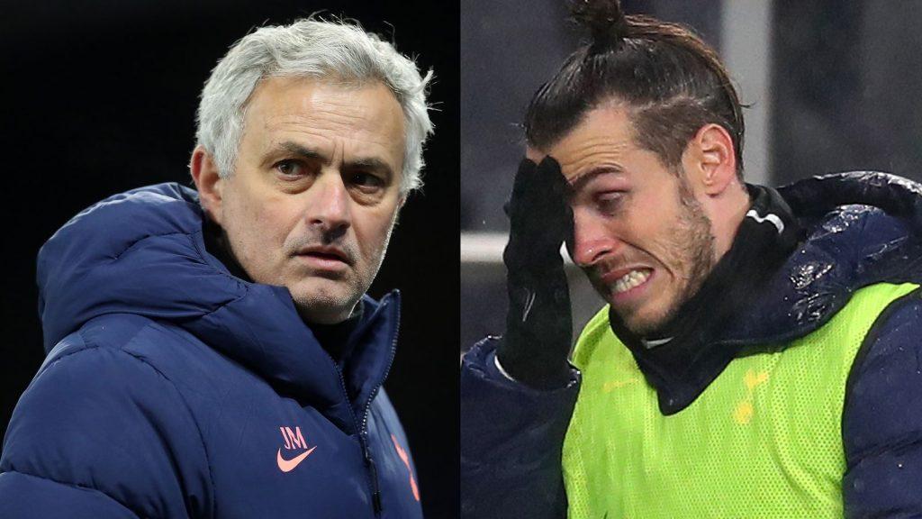 Jose Mourinho Gareth bale PA