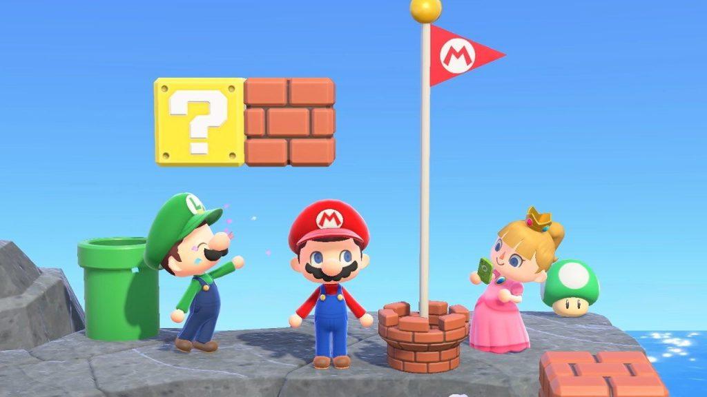 Animal Crossing: New Horizons Version 1.8.0 ist jetzt verfügbar - Super Mario Items und mehr