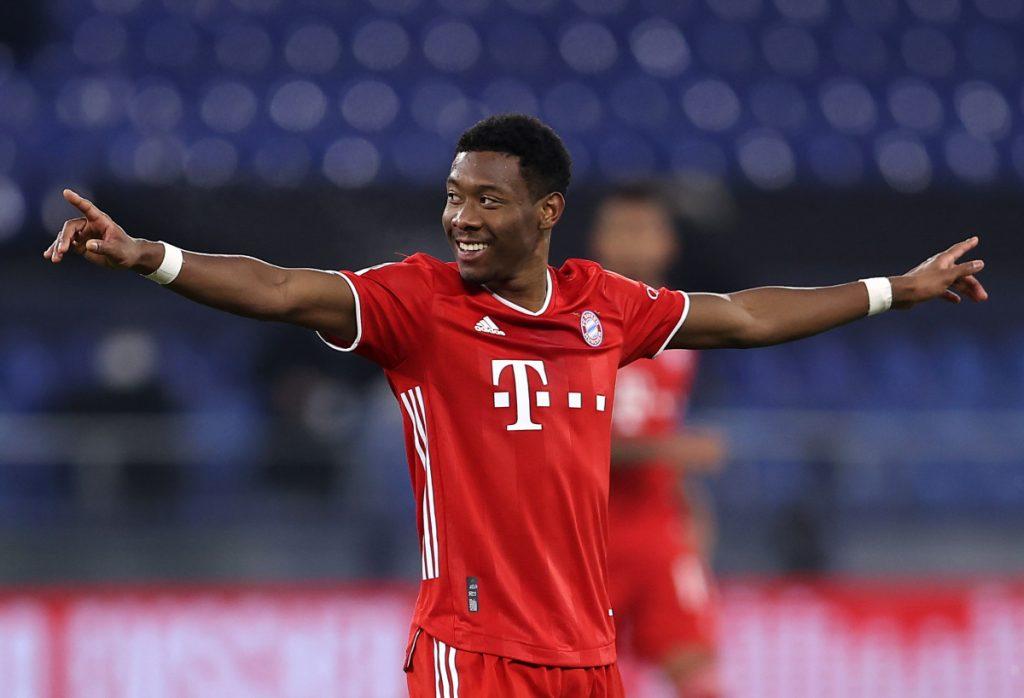 Chelsea hat den Transfer von Bayern Münchens Verteidiger David Alaba übergeben