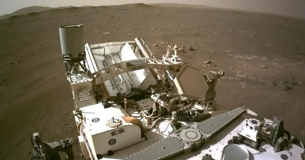 Die NASA enthüllt ein nie zuvor gesehenes Video der Landung eines Marsrovers auf dem Roten Planeten