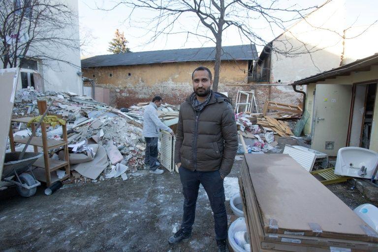 Österreich: ein Flüchtlingsheim, das von einem ehemaligen Bewohner gerettet wurde