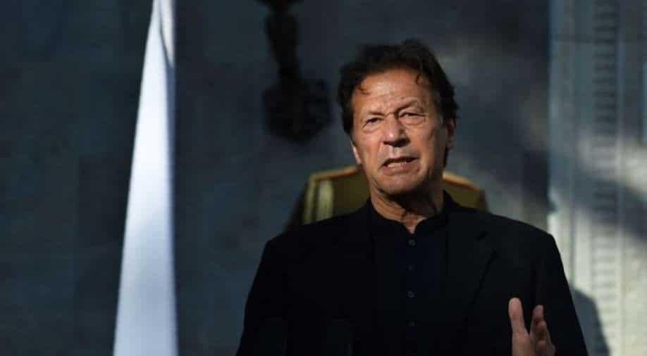 Pak Imran Khans Uhr, um den indischen Luftraum zu nutzen, um nach Sri Lanka, Südasien, zu fliegen