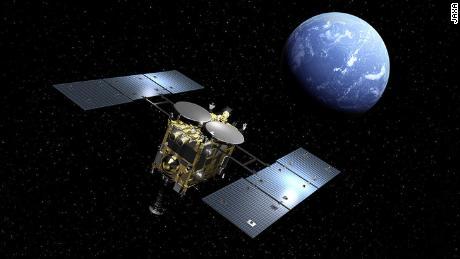 Die Hayabusa2-Mission bestätigt die Rückgabe einer Probe von Asteroiden, einschließlich Gas, zur Erde