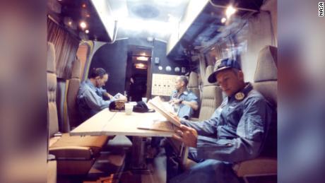 Die Apollo 11-Astronauten wurden nach ihrer Rückkehr zur Erde unter Quarantäne gestellt.  hier ist der Grund
