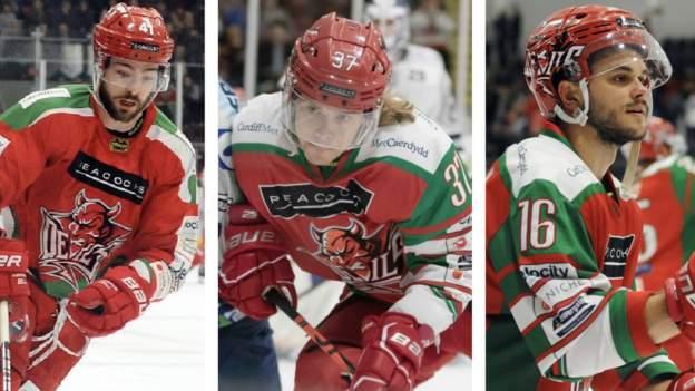Cardiff Devils Stars und Alumni treten 2021 in der Ice Hockey Elite Series an