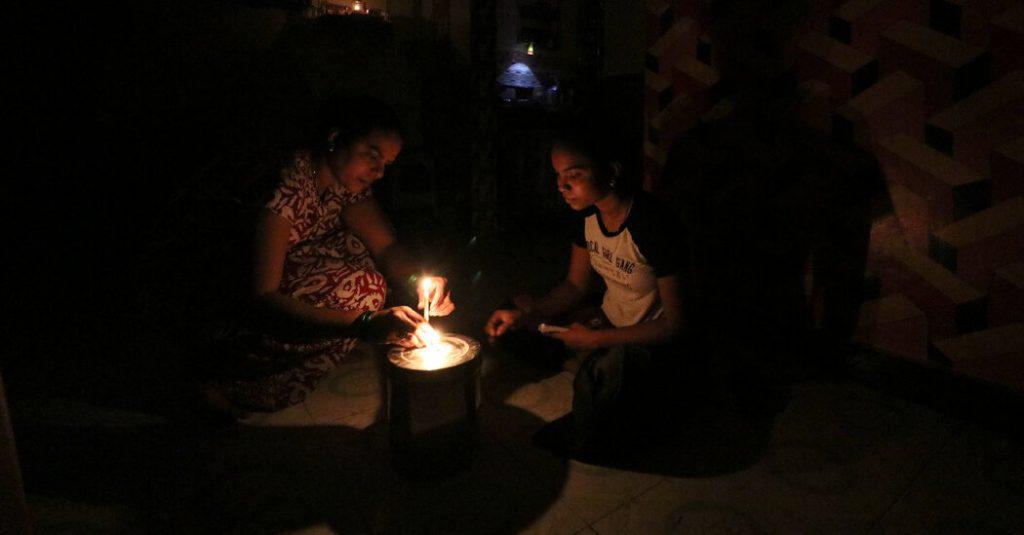 China scheint Indien zu warnen: Drücken Sie zu stark und die Lichter könnten ausgehen