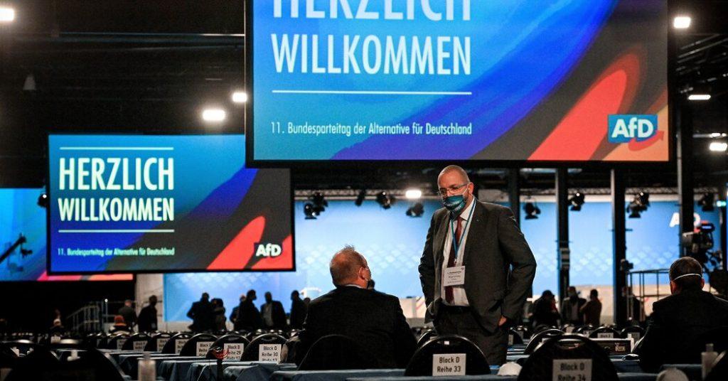 Deutschland setzt rechtsextreme AfD-Partei auf Extremismus