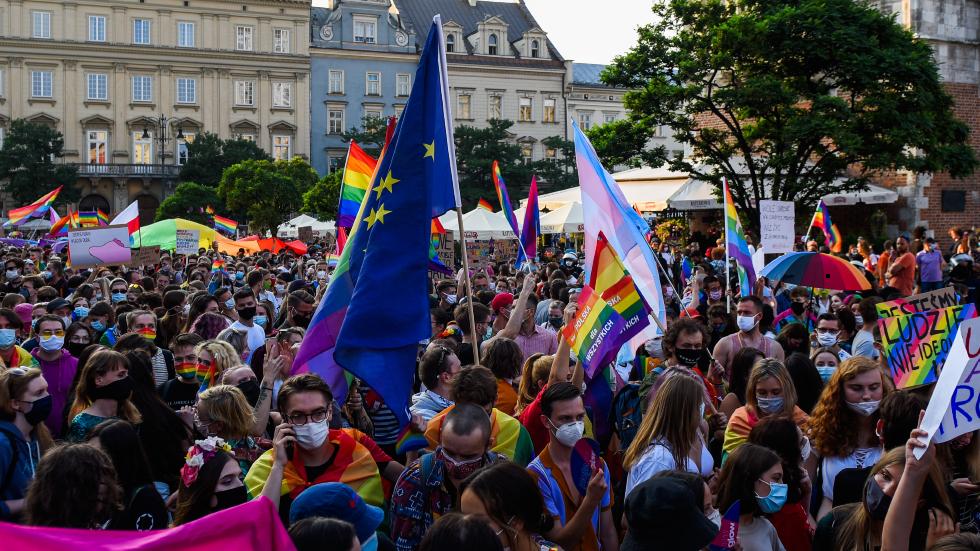 EU-Debatte über die LGBT-Zone der Freiheit