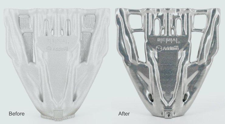 Fintek wird exklusiver britischer Agent für die Nachbearbeitungslösungen für den Metall-3D-Druck von RENA Technologies