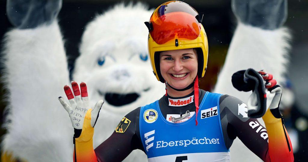 Rennrodel-Weltmeisterschaft 2021: Julia Taubitz führt deutsche Einzelwettkämpfe an