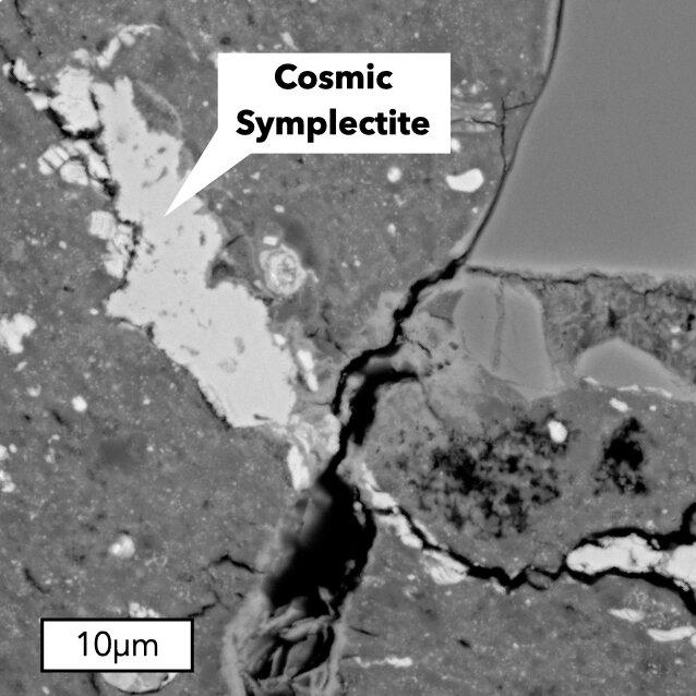 Ein Meteorit, der die Geburt des Sonnensystems bezeugt