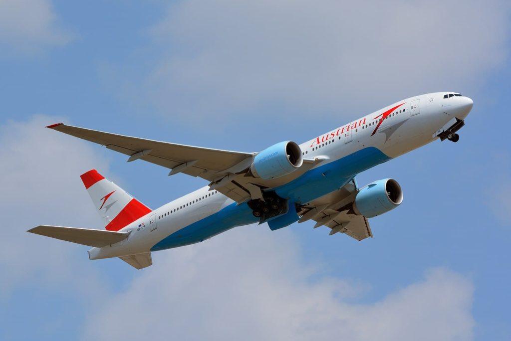 Austrian Airlines fliegt riesige Boeing 777 nach Griechenland, um die Nachfrage zu decken