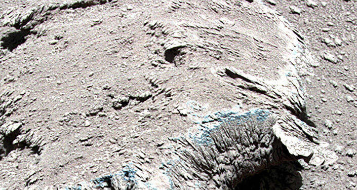 Dieses undatierte Foto, das am 9. Juli 2021 von der National Space Administration of China (CNSA) veröffentlicht wurde, zeigt Gesteine auf der Marsoberfläche, die vom chinesischen Rover Zhurong Mars aufgenommen wurden.