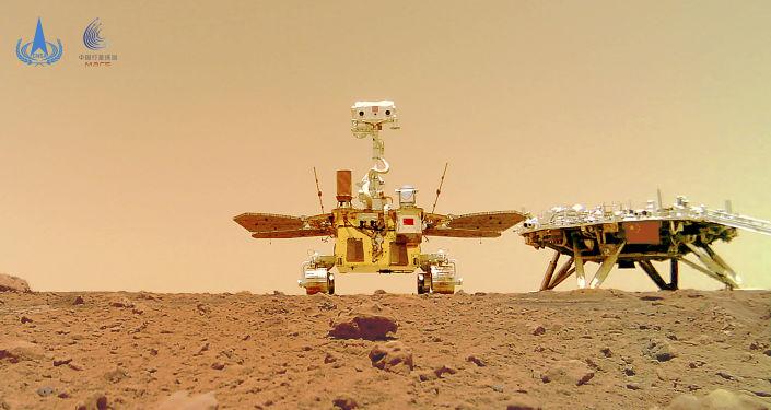 Fotos: China teilt neue Bilder des Mars, die von Zhurong Rover aufgenommen wurden