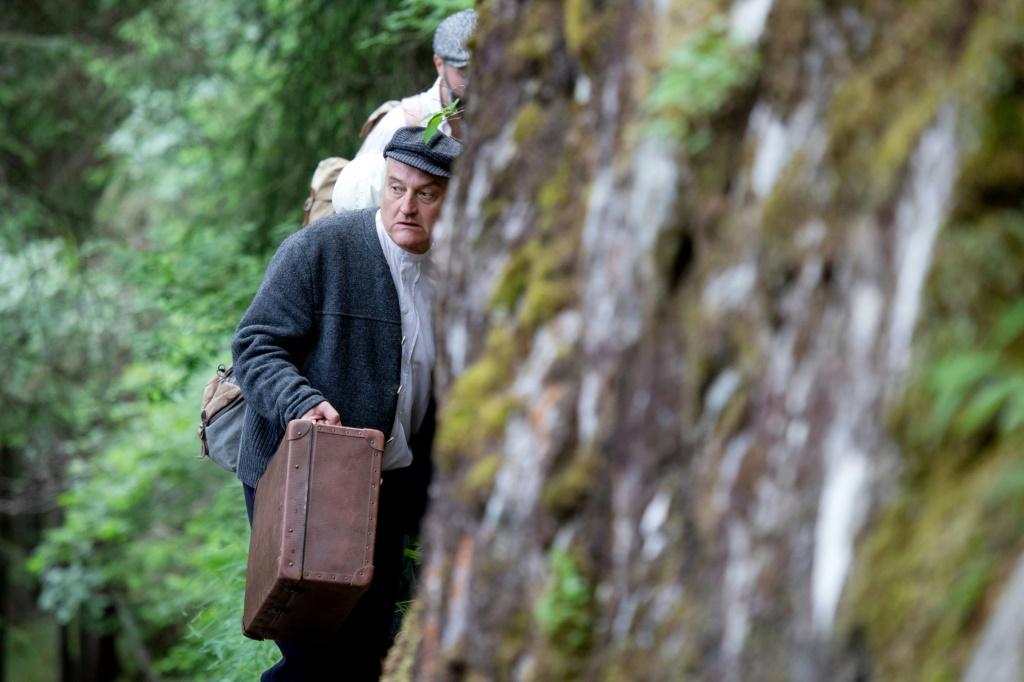 In den österreichischen Alpen wird die Flucht nach dem Holocaust rekonstruiert